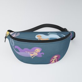 Many Mermaids Fanny Pack