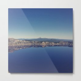 Mt. Thielsen from Crater Lake Metal Print