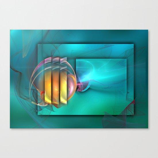 Fantastic World Canvas Print