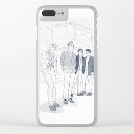 Smiths. Clear iPhone Case