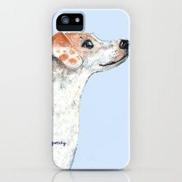 Jack Russell Terrier 2 iPhone Case