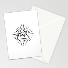 the seeing eye Stationery Cards