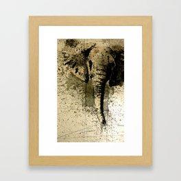 Peanut Allergy Framed Art Print