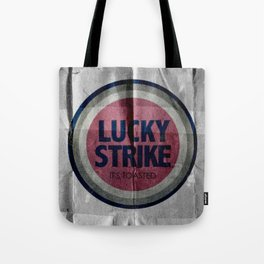 Vintage Lucky Strike Carton Tote Bag