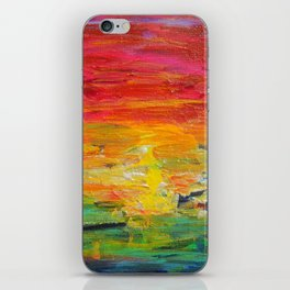 Ombre Rainbow Sunset iPhone Skin
