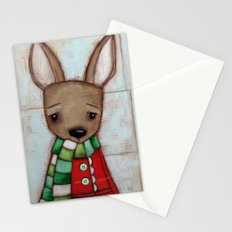 Winter Coat Stationery Cards