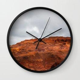 Hawaiian Desert Wall Clock