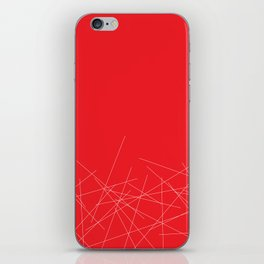 Poppy sticks iPhone Skin