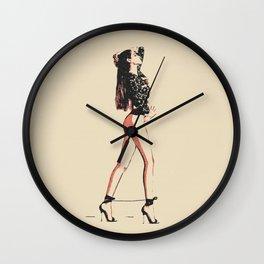Glamour Bondage Girl Wall Clock
