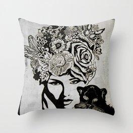 Beautiful Mind Throw Pillow