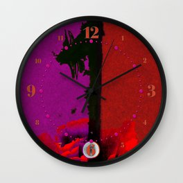 Garnet One Wall Clock