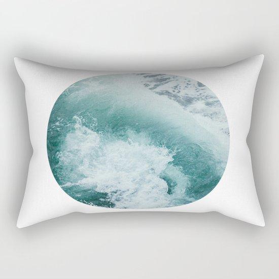 Circle Sea Rectangular Pillow