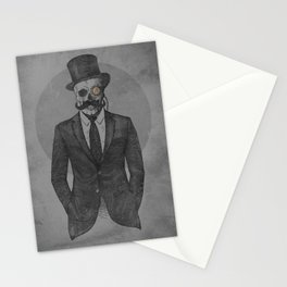A Gentleman & a Skullar Stationery Cards