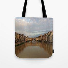 Ponte Vecchio Italy Tote Bag