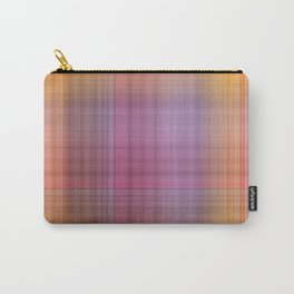 Hibiscus Plaid Carry-All Pouch