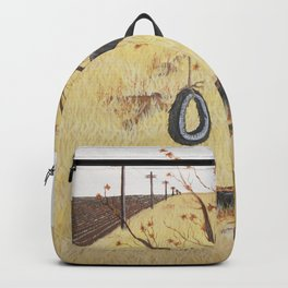 Tire Swing, Old Tree and Swing Painting Backpack