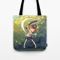 baseball Tote Bags featuring Baseball by Freeminds