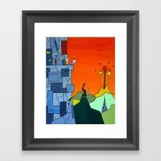 Where Now? Framed Art Print