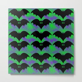 Bats And Bows Metal Print