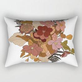 Boho Bouquet Rectangular Pillow