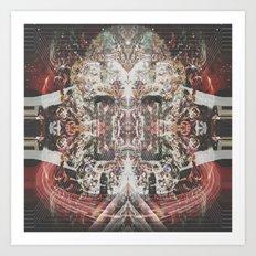 Gem Shimmer Soul Art Print