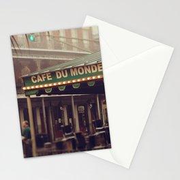 Foggy Cafe Du Monde Stationery Cards