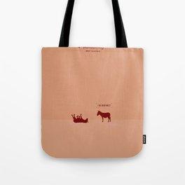 Crazy old Mule / I See Dead Mule Tote Bag