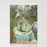 queen Stationery Cards featuring Queen  by Nicholas Lockyer
