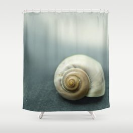 Spiral Shell Shower Curtain