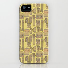 Pattern Project #15 / Log Lady Logs iPhone Case