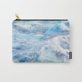 """""""Sea waves"""". High sea.... Carry-All Pouch"""