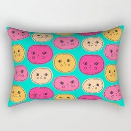 Happy Citrus! Grapefruit - Orange Rectangular Pillow