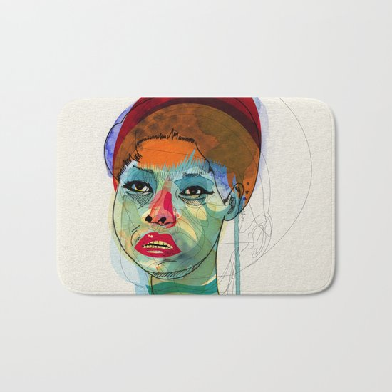 Girl_100412 Bath Mat