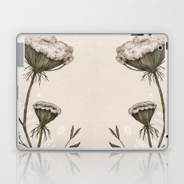 Queen Anne's Lace Laptop & iPad Skin