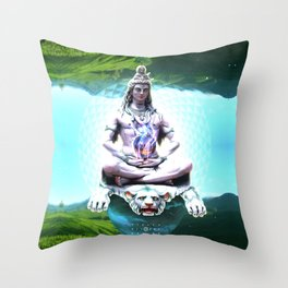 Shiva Absolute Throw Pillow