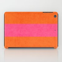 clueless iPad Cases featuring orange and hot pink classic by her art