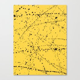 Dazed + Confused [Yellow] Canvas Print