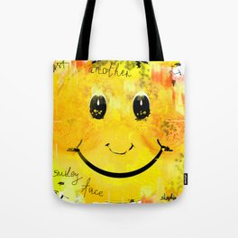 Just another smiley face Tote Bag