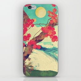 Waking to the Wild and Beautiful Ocean of Dhin iPhone Skin