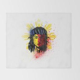 Lapu Lapu Throw Blanket