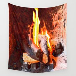 Logfire SLR  Wall Tapestry