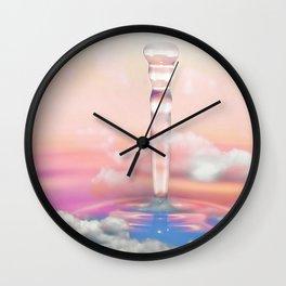 Cloudless Wall Clock
