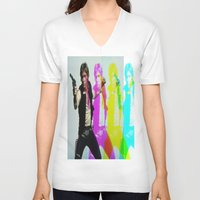han solo V-neck T-shirts featuring Han Solo by Iotara