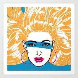 Summer Blonde '82 Art Print