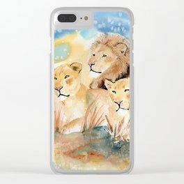 pride Clear iPhone Case