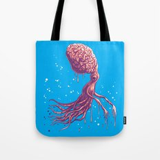 the zombie octopus Tote Bag