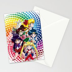 Sailor Moon - Chibi Candy (white edition) Stationery Cards