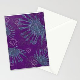 African Daisy Batik Stationery Cards