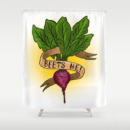Beets Me! Shower Curtain