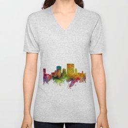 El Paso Texas Skyline Unisex V-Neck